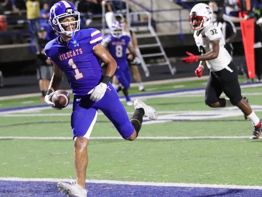 WEEK 6 AREA HIGH SCHOOL FOOTBALL STATISTICS (includes scoring, tackles and interceptions)
