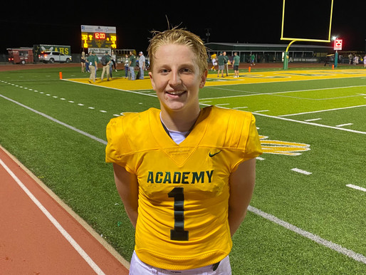 FURIOUS FINISH: Mraz, Academy rally back from 11-point deficit in fourth to defeat nemesis Yoe 32-28