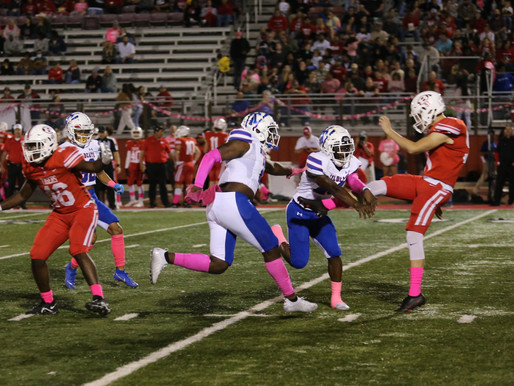 RUNAWAY: Blocked punts, sharp offense, defense power Temple to ninth straight win over Belton, 50-15