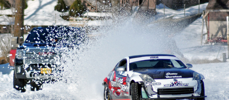 Ice Racing on 1 of the 10,000 Lakes