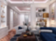 Interiorismo de piso apartamento de lujo en Barcelona
