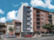 Proyecto para la construcción de un bloque de vivienas plurifamiliar situado en Sabadell, Barcelona.