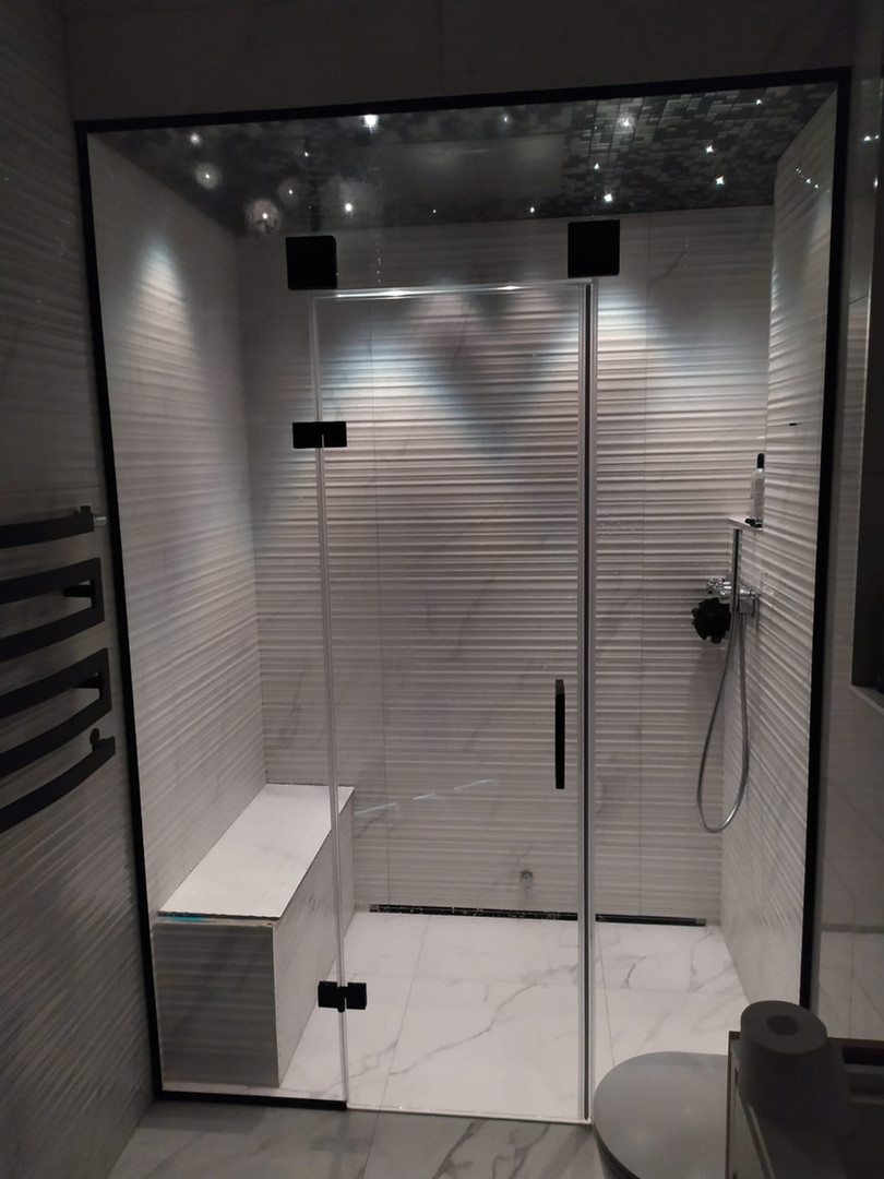 Steam bath - shower stall.