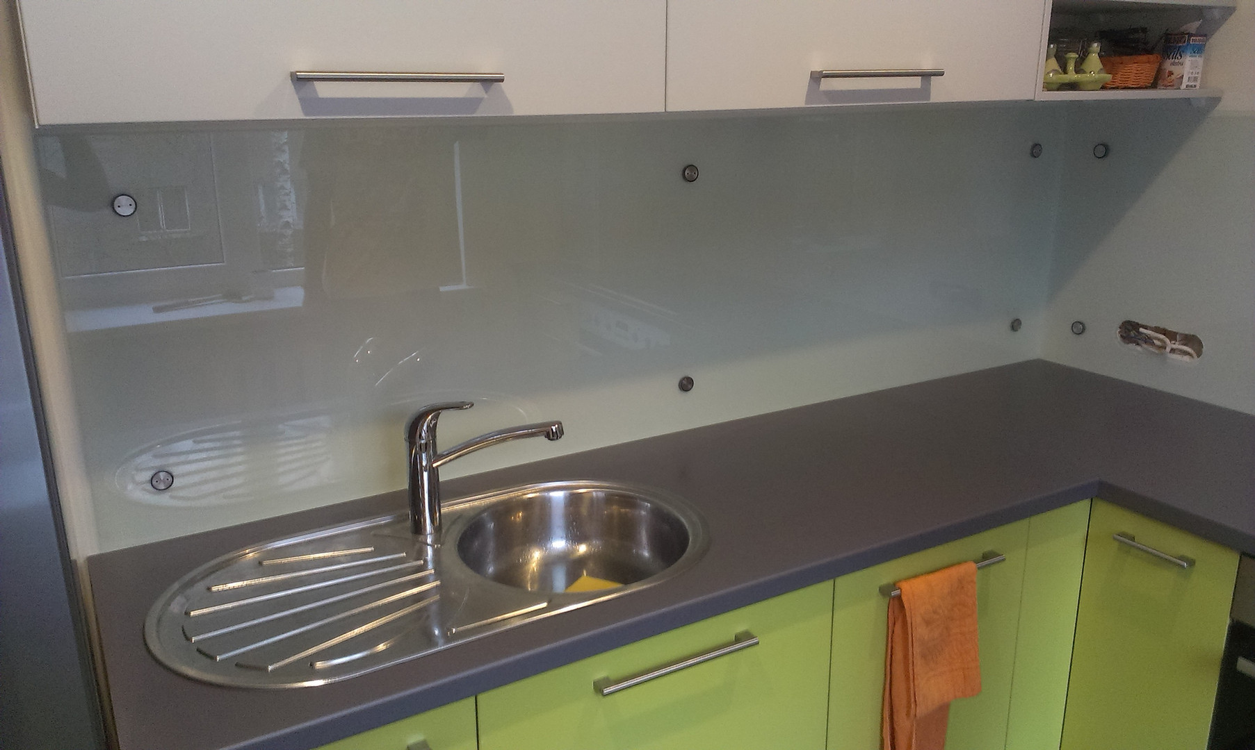 Matēts virtuves panelis