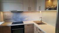 Sealed kitchen panel