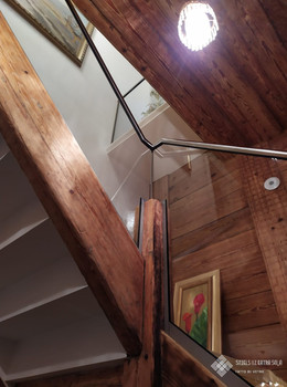 Full-glass railings