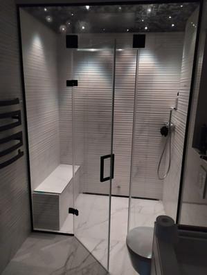 Steam bath - shower stall.
