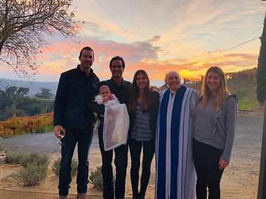 Napa Infant baptism baby blessing