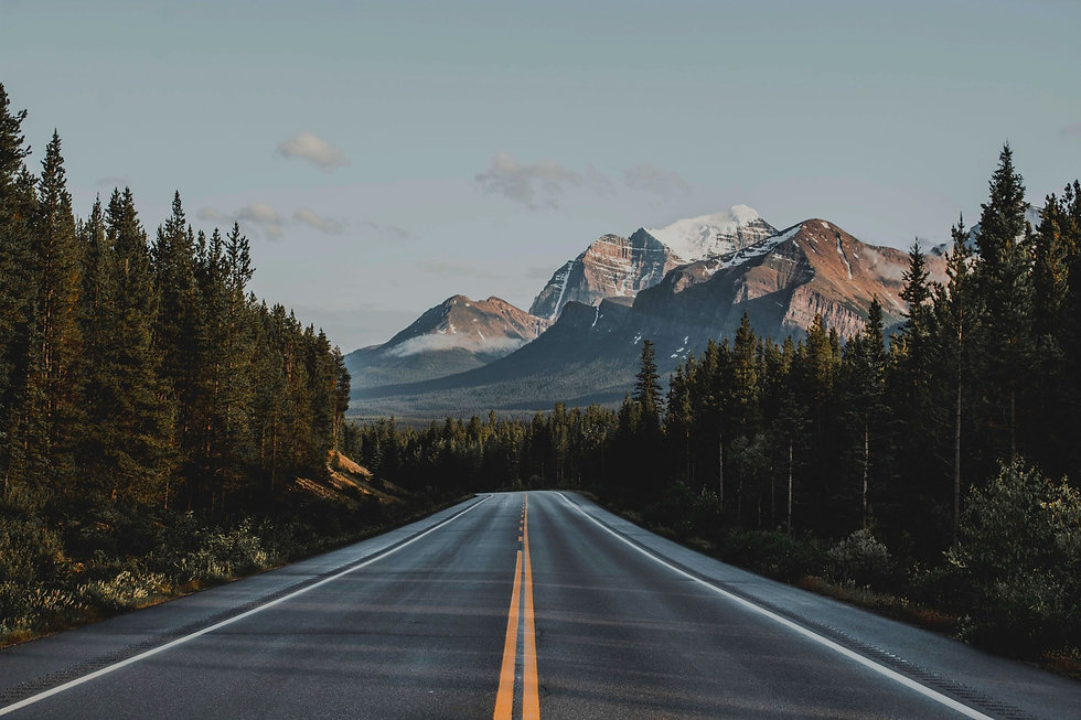 Driving to the Canadian Rockies