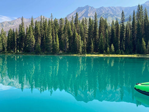 Lake Louise during the summer