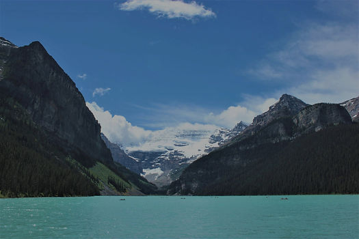 Canadian Rockies image with mountains