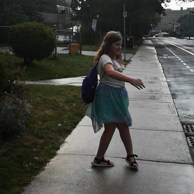 Twirling in the Rain: Chasing rainbows, stopping to twirl