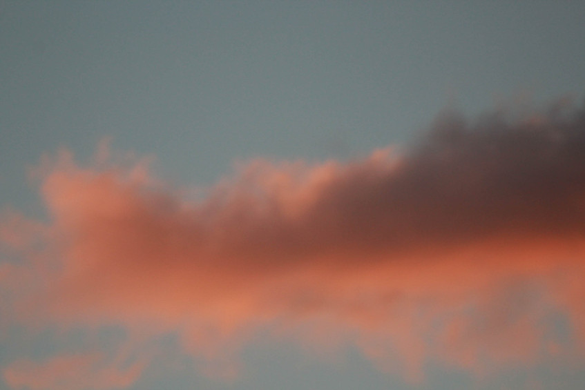 Clouds - A photo series 7/8