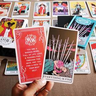 Modern Witch Tarot-channeling messages from the divine