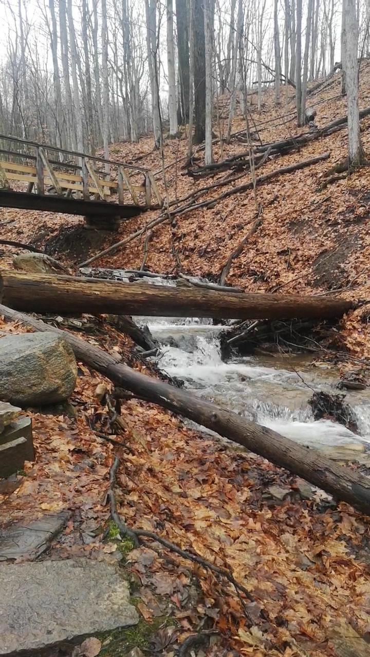 Blue mountain cascade falls 2