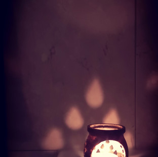 Baths by candlelight: Mood lighting