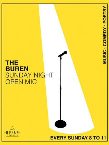 The BurenOpenMicPoster_2020_RG