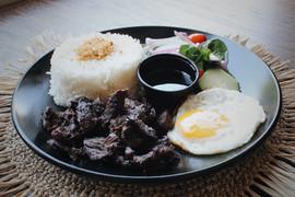 Beef Tapsilog Plate