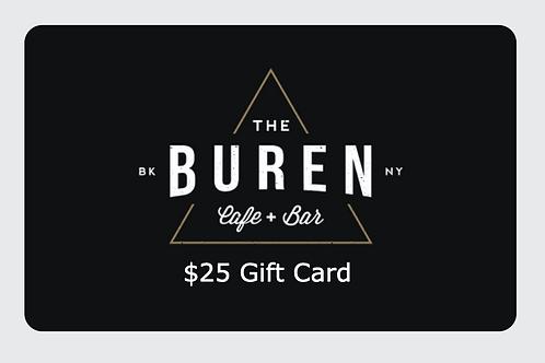 The Buren Gift Card