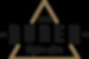 The Buren logo negative 2 golden triangl