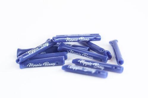 Piteira Colorida Roxa/Azul