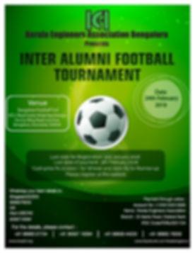 Football Tournamet in Bangalore