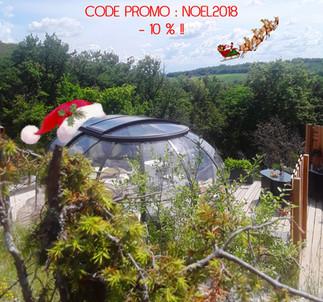 CODE PROMO - 10 % jusqu'au 1e Décembre !!