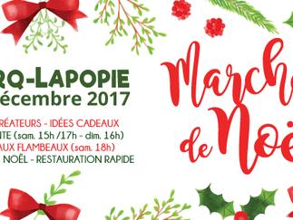 Marché de Noël de Saint Cirq Lapopie les 16 et 17 décembre 2017