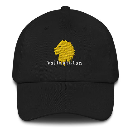 Dad hat w/ white lettering