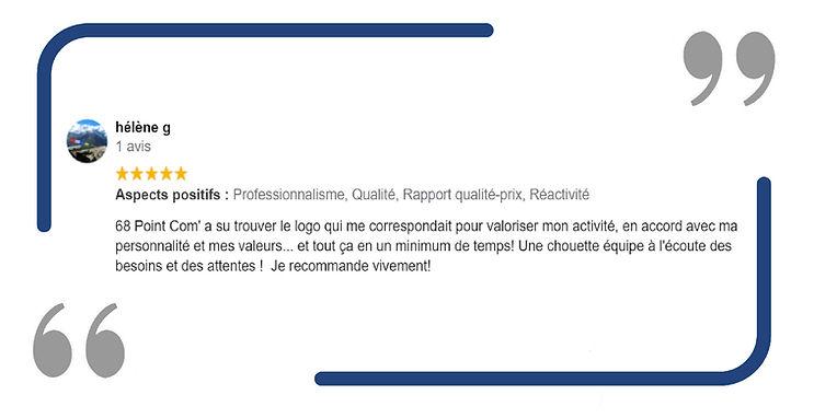 68 Point Com' Consultant en communication Mulhouse Avis Client