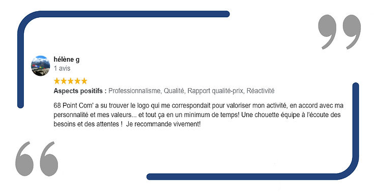 68 Point Com' Consultant en communication Mulhouse Avis Client