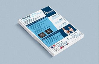 68 Point Com flyers brochure print publicité Mulhouse Académy form et moi bpjeps affiche dépliant publicitaire communication alsace