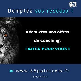 Coaching en communication à Mulhouse 68pointcom consultant en communication visuelle et digitale community management formation pour adutles chefs d'entreprise
