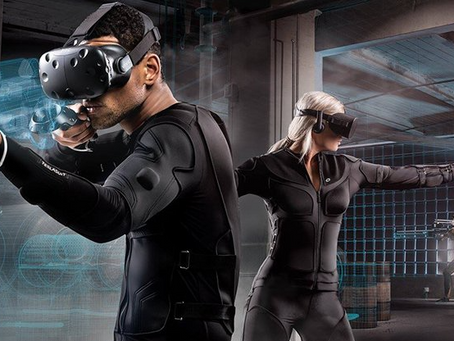 Haptic Suits Create Full on VR Immersion
