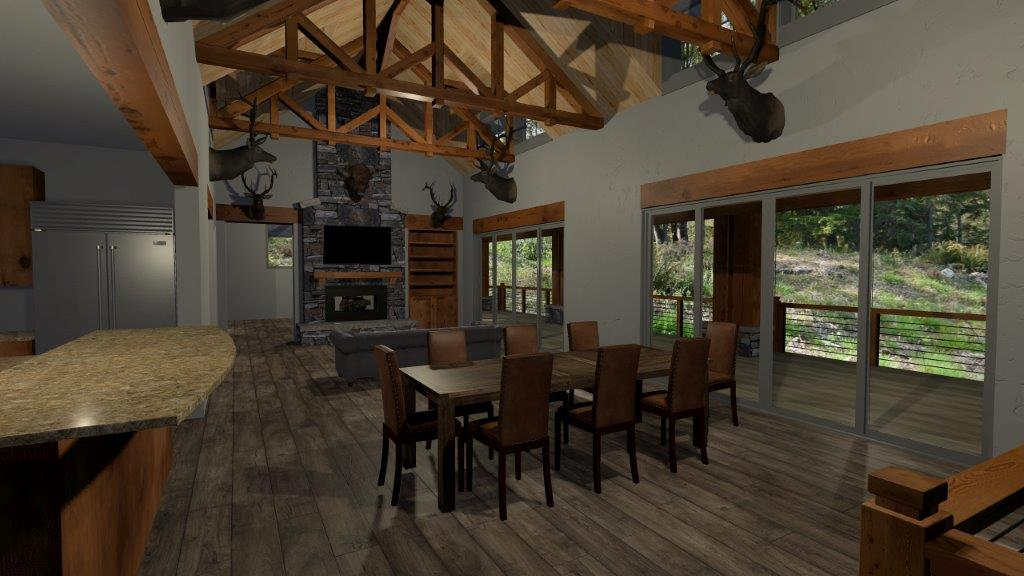 MyPad3D fireplace
