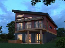 Exterior New Home Construction