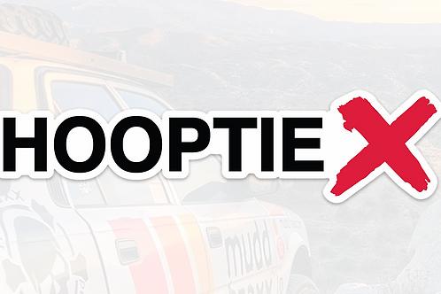 "Hooptie X 8""Decal (sold in pairs)"