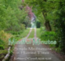 Mindful Minutes meditation CD cover