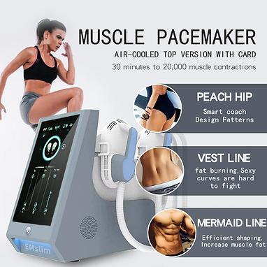 Portable-4-Handles-Tesla-Hi-Emt-Emslim-Electromagnetic-Muscle-Stimulation-Device-With-RF-F