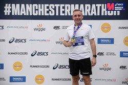 After completing the Manchester marathon
