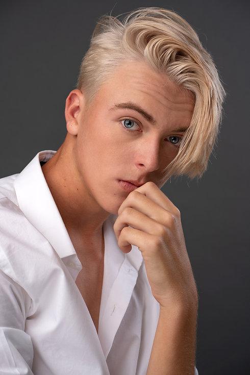 Model headshot of Miles Maresch.
