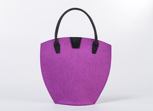 Feltstyle Rounded Handbag
