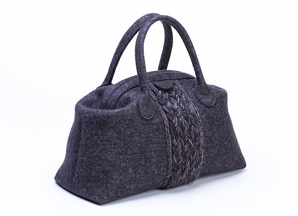 Feltstyle Plait handbag