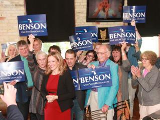 Jocelyn Benson, Democrat, Announces for Sec. of State