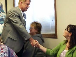 Rep. Inmann Meets Area Educators
