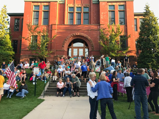 Traverse City Holds Candlelight Vigil for Charlottesville