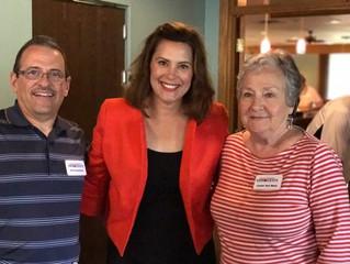 GT Dems Meet Rep. Gretchen Whitmer