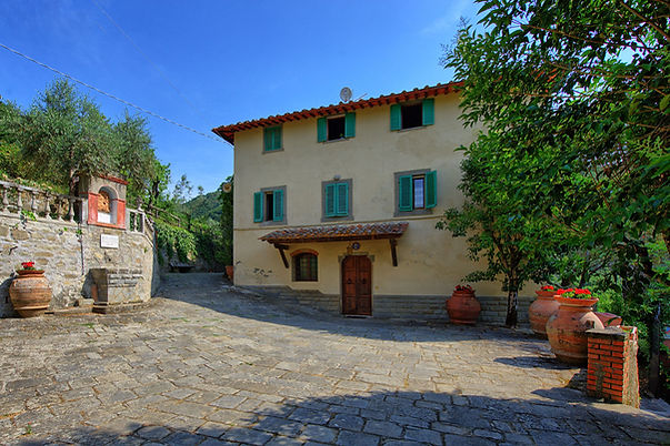 Historical Villa surrounded by Holiday Apartments in Chianti