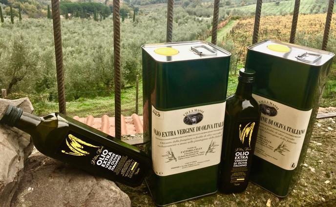 Agriturismo Fattoria Celle - oil and wine