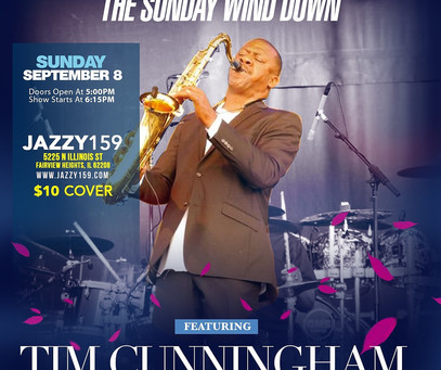 The Sunday Wind Down with Tim Cunningham,unlike anything you've ever experienced to end your weekend